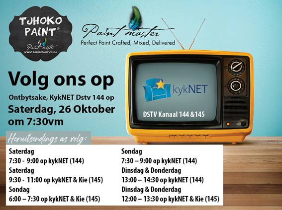 Paint Master TV Advert on Ontbytsake